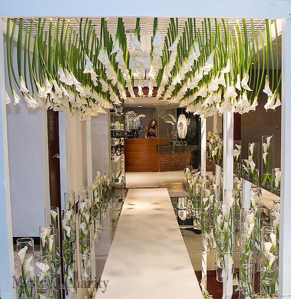 Entrance to Michael Flores Salon