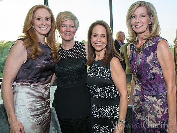 Tiffany Divis, Ellen Winspear, Diane Gruber and Kathy Holt