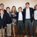 """Jenna Bush Hager with """"the boys"""""""