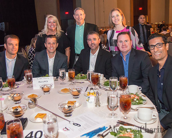 From the left: (seated) Peter Slater, Ethan Stubbs, Barry Carlson, Steve Seay and Luis Reynoso; (standing) Suzy Kelley, Mike Loverde and Christy Harris