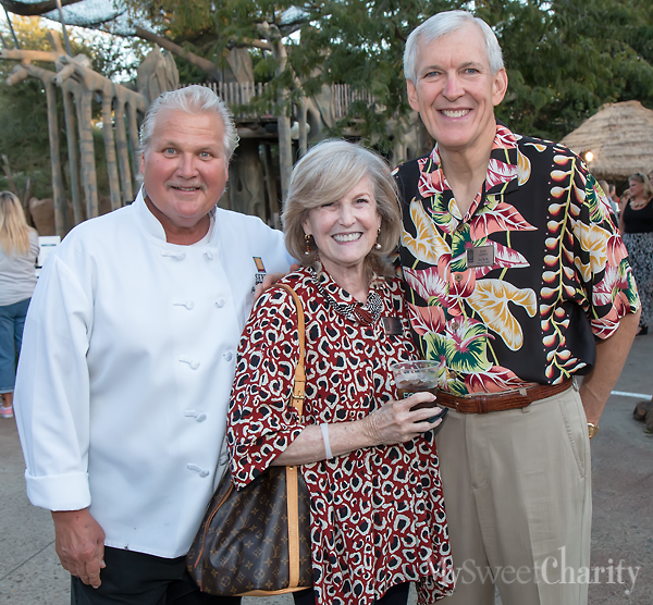 Jim Severson and Laura and Tom Leppert
