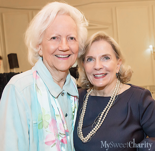 Carolyn Lupton and Jean Lattimore