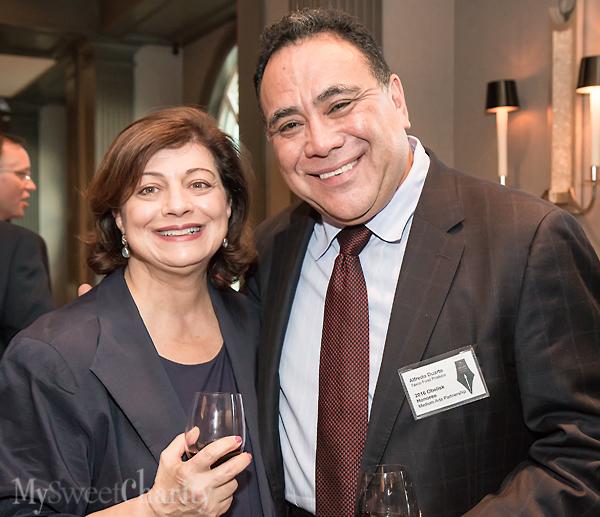 Katherine Wagner and Alfredo Duarte