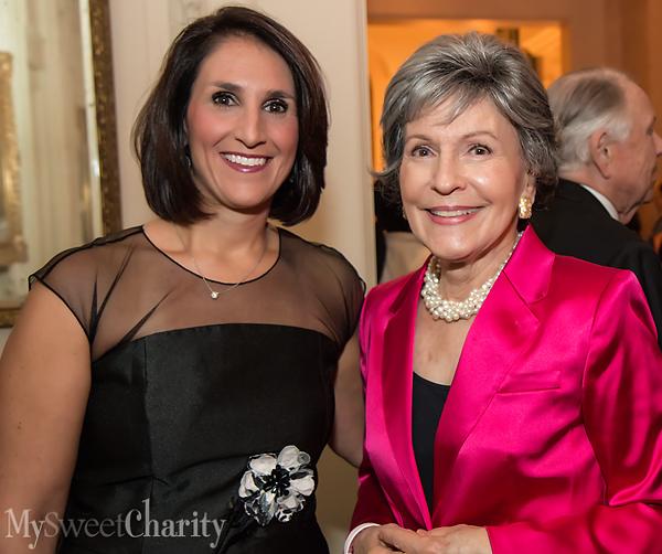 Isabella Novakov and Linda Pitts Custard