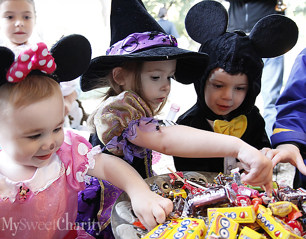 Trick-or-treaters (File photo)