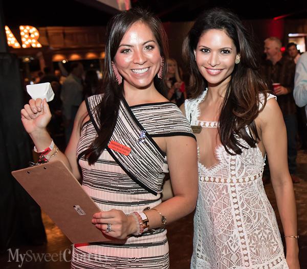 Samantha Wortley and Bina Patel