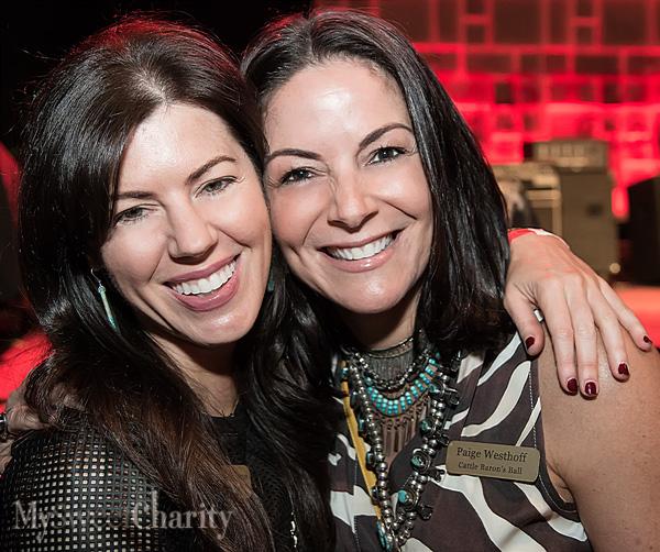 Brook Hortenstine and Paige Westhoff