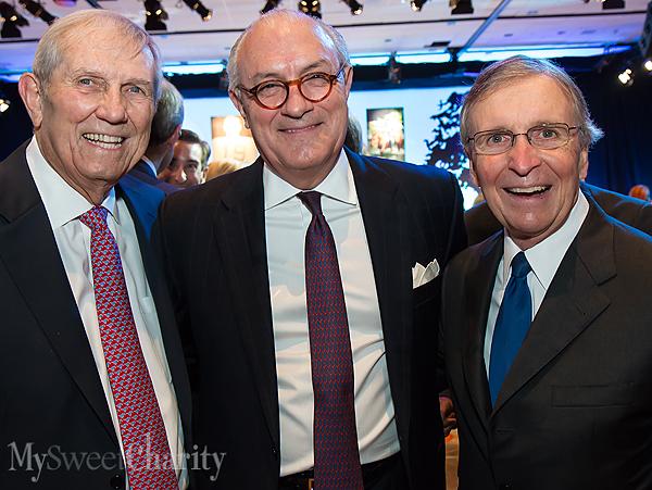 Pete Schenkel, Bob White and Fred Hegi