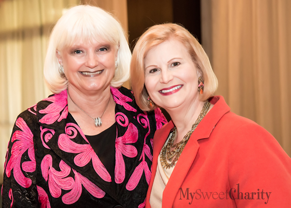 Connie Yates and Gretchen Minyard Williams