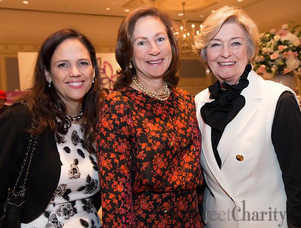 Angie Kadesky, Tucker Enthoven and Nancy Carter