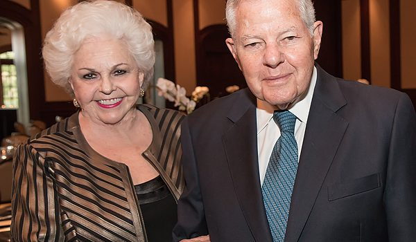 Nancy And Herbert Hunt Become Les Femmes Du Monde's First Couple Of The Year With Tributes, Laughter And Saved Ribbons