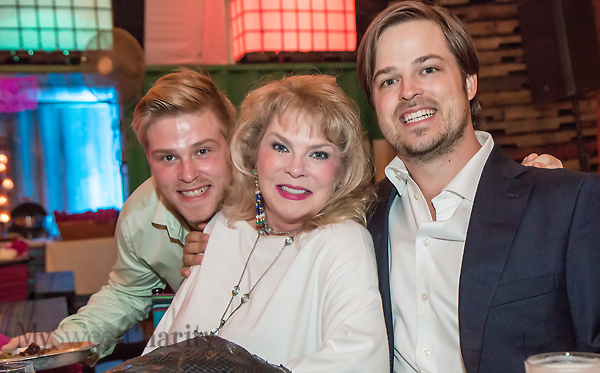 Chad Fischer, Gail Fischer and Ford Fischer