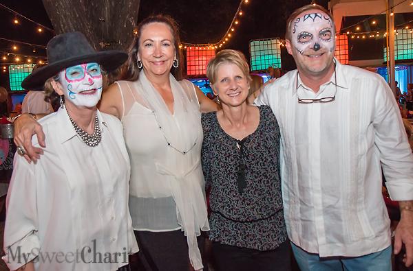 Ann Kellogg Schooler, Cindy Turner, Margaret Spellings and Matt Schooler