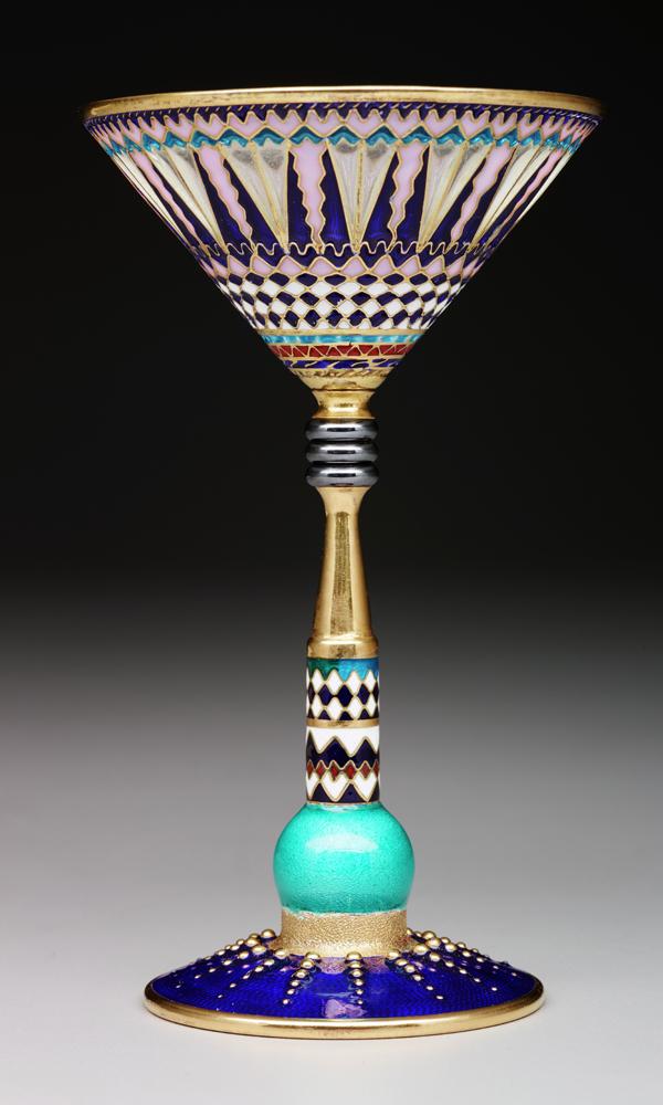 Martini glass, c. 2001 by Valeri Timofeev*