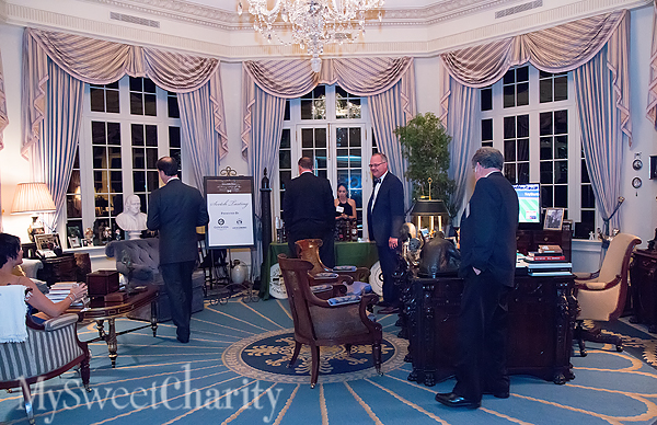 Harlan Crow's Oval Office