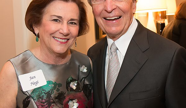 Despite Mike Boone's Being MIA, Honorees Jan And Fred Hegi Were Surrounded By Friends At The Senior Source Patron Party