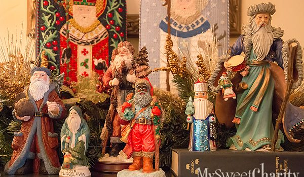 MySweetCharity Photo Gallery Alert: The Claus Collection Santa Exhibition