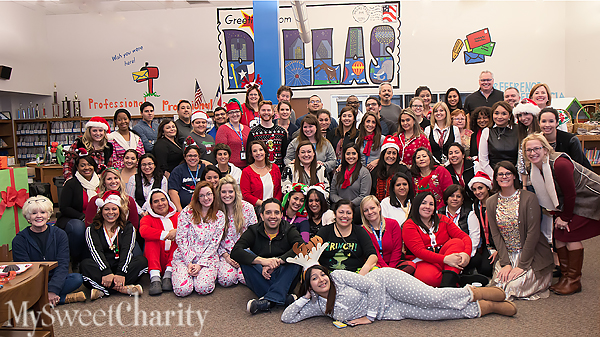 A Lesson In Appreciation Made The Grade At Herbert Marcus Elementary School With Cookies, Pajamas And Paper