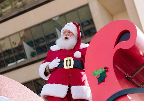 JUST IN: Children's Health's Holiday Parade Is Canceled, But A Get-Together Breakfast With Santa Is Still On At The Adolphus