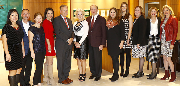 KidneyTexas Inc. Celebrated The Holidays With Check Presentations, Gifts Of Crystal And A Birthday Cake
