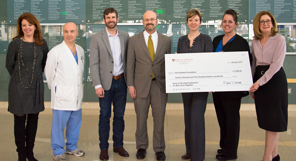 JUST IN: Sons Of The Flag Endowment For Burn Care Supplies Is Established At Parkland Health And Hospital System