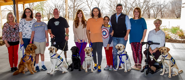 Six New Teams Of Humans And Dogs Graduated For Brighter Futures Thanks To Canine Companions For Independence
