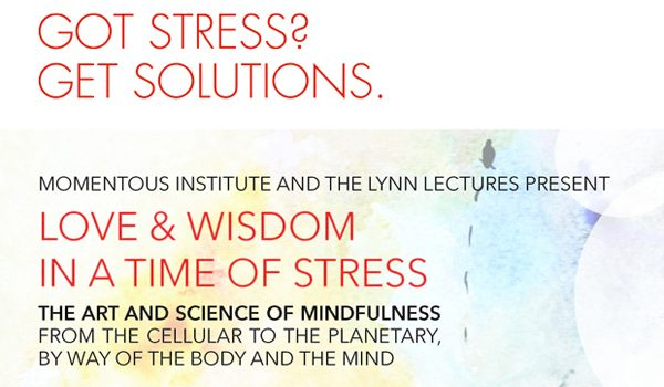 Momentous Institute And The Lynn Lectures Offer Solutions For A Less Stressful Life Tuesday Night At McFarlin Auditorium