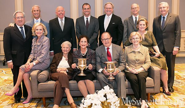 TACA's 2017 Silver Cup Luncheon Had Some Hits And Misses, But Recipients Nancy Nasher And Walter Elcock Were The Best Of The Best