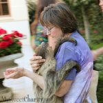 EarthxGlobal Gala Patrons At Scott Ginsburg's Mansion Included A Hairy Guest With Two Toes And Big, Brown Eyes