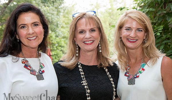 """The Weather Played Nice For La Fiesta De Las Seis Banderas' """"Under The Stars"""" To Be Out In The Open At Gwen And Doug Parker's Casa"""