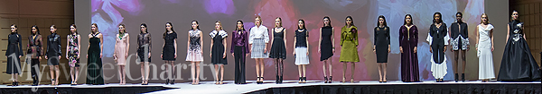 The Salvation Army Women's Auxiliary Fashion Show And Luncheon Had Guests Shopping And Re-Invented Fashions On The Runway