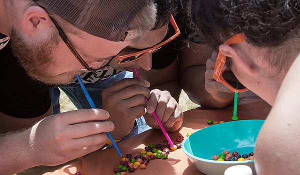Community Partners Of Dallas' yCPD Field Day Campers Were Shaking And Baking Under A Bright Sun With Cookies And Mitts At The Rustic