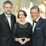 "Black-Tie Types Celebrate Craig Hall's Receiving Artscape's ""Great Contributor To Art"" Award At Dallas Arboretum"