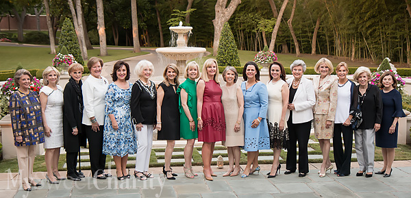 First Ladies Of Children Charities Fundraiser Were Feted And Photographed At The Annual Former Crystal Charity Ball Chairs' Dinner