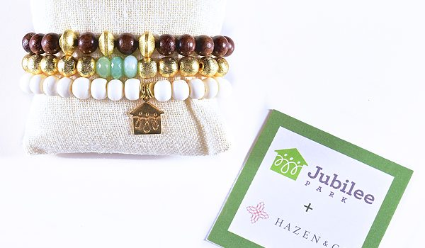 Jewelry Designer Taylor Miller Has Created A Trio Of Bracelets To Benefit Jubilee Park And Community Center's 20th Anniversary