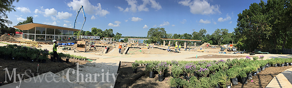 Veggie's And Fruits' 3.5-Acre New Digs Are Nearing Completion At The Dallas Arboretum's A Tasteful Place