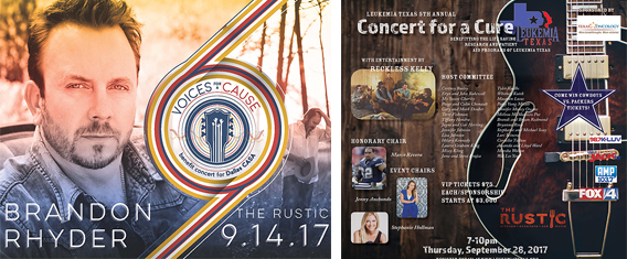 The Rustic Is Gonna Be Rocking In September For Voices For A Cause And The 5th Annual Concert For A Cure, But Not At The Same Time