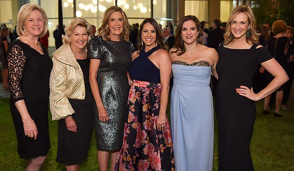 """Flora Award Black-Tie Guests Celebrated The """"Terrific Trio"""" At Texas Discovery Gardens With A Seated Dinner, Music And Clear Skies"""