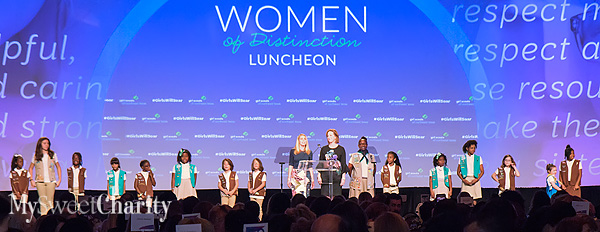 Girl Scouts Of Northeast Texas Soared With Awards And Former Astronaut Dr. Mae Jemison At Women Of Distinction Luncheon