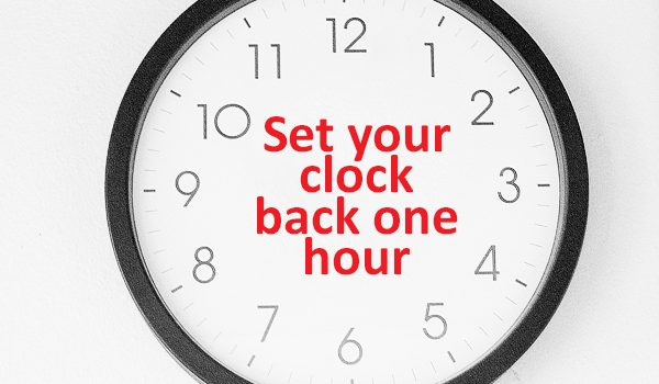A Gentle Reminder: Daylight Saving Time Ends This Weekend