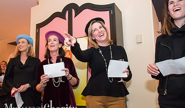 """Crystal Charity Ball Committee Does A """"Mary Tyler Moore"""" Singalong For CCB Chair Pam Perella On The Eve Of The Children's Nonprofit Gala"""