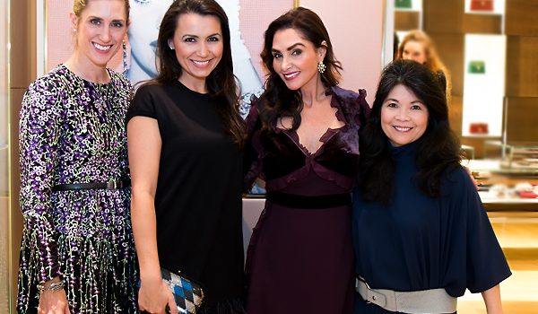 NorthPark's Bulgari Was Bubbling With Champagne And News For The St. Valentine's Day Luncheon And Fashion Show Patron Party