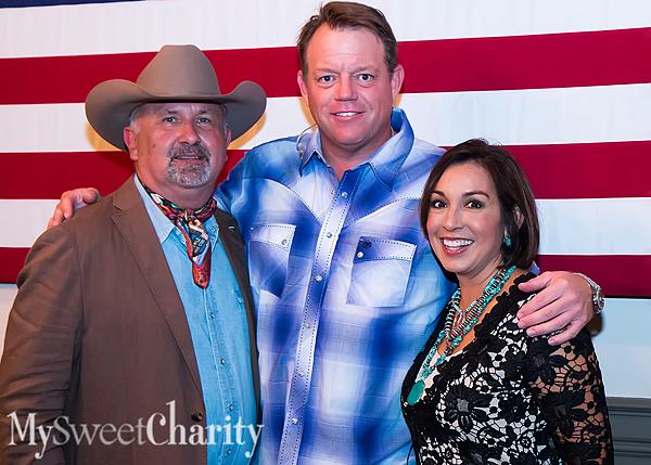 IMG_7259 Steve Lamb, Pat Green and Deborah Ferguson