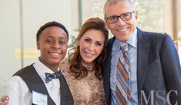 Despite Nearby Traffic Headaches, Dallas Cares For Kids Luncheon Celebrated Janelle And Larry Friedman Benefiting Dallas Can Academies
