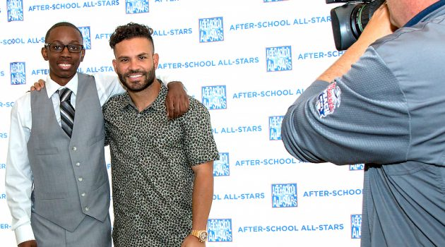 "Astros Wunderkind Jose Altuve And After-School All-Stars Jeremiah Dawn Hit It Out Of The Park For ""Rising Stars Luncheon"""