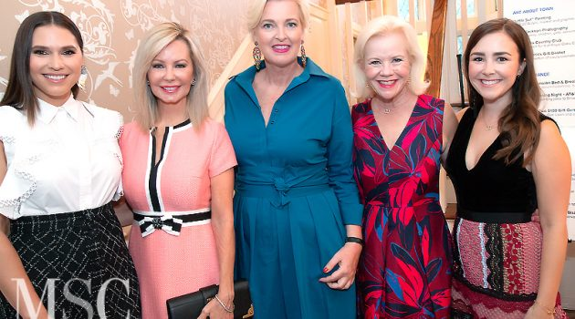 KidneyTexas Patrons Got A Sneak Preview Of The Runway Report Live Auction And Raffle Items