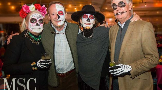 19th Annual Mission Ole Celebrates Dias De Los Muertos With Haunting Faces And Lively Auction/ Raffle Items