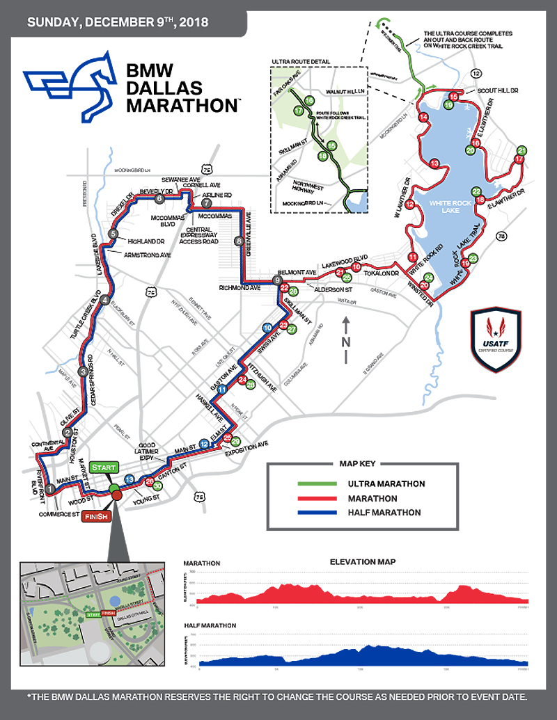 2018 BMW Dallas Marathon*