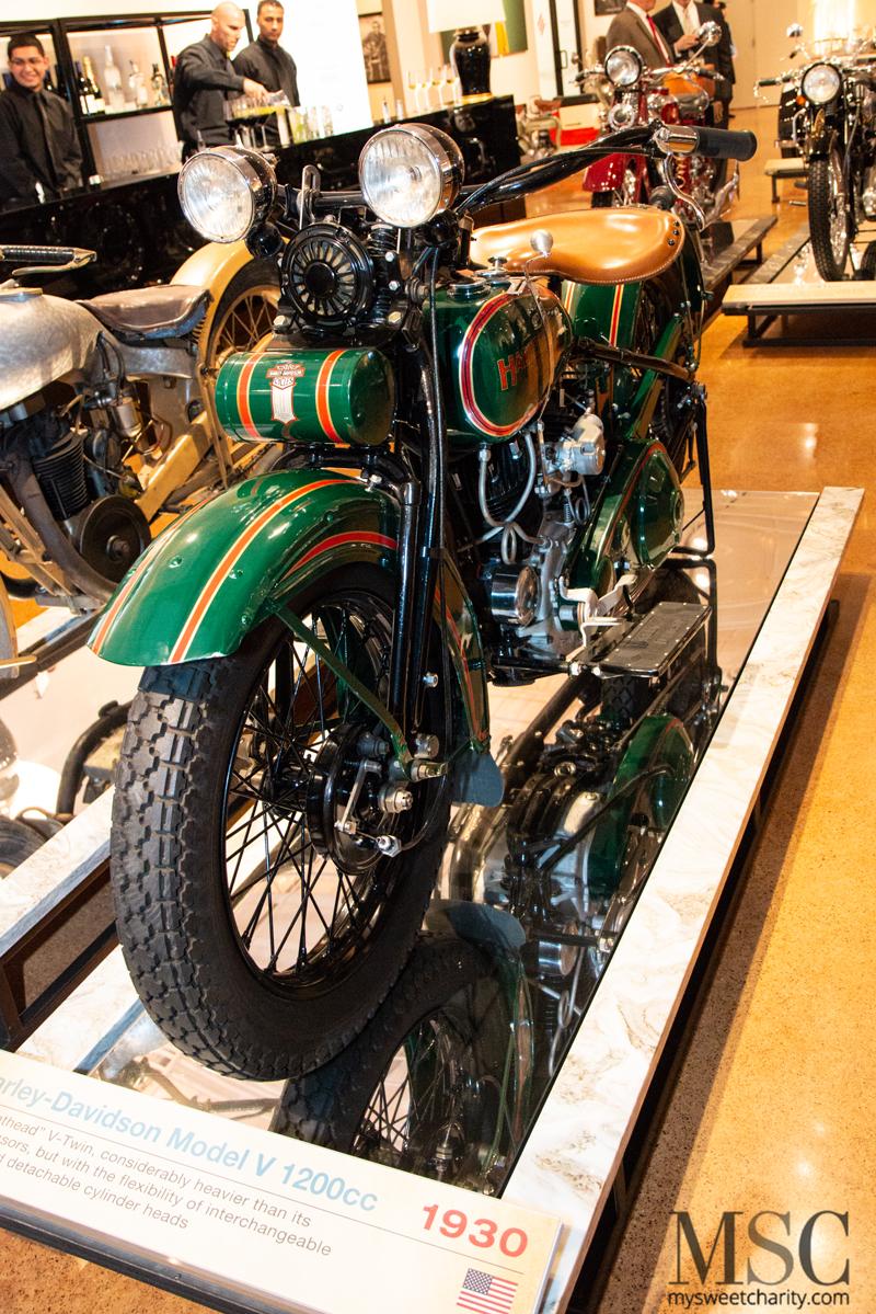 1930 Harley-Davidson Model V 1200cc