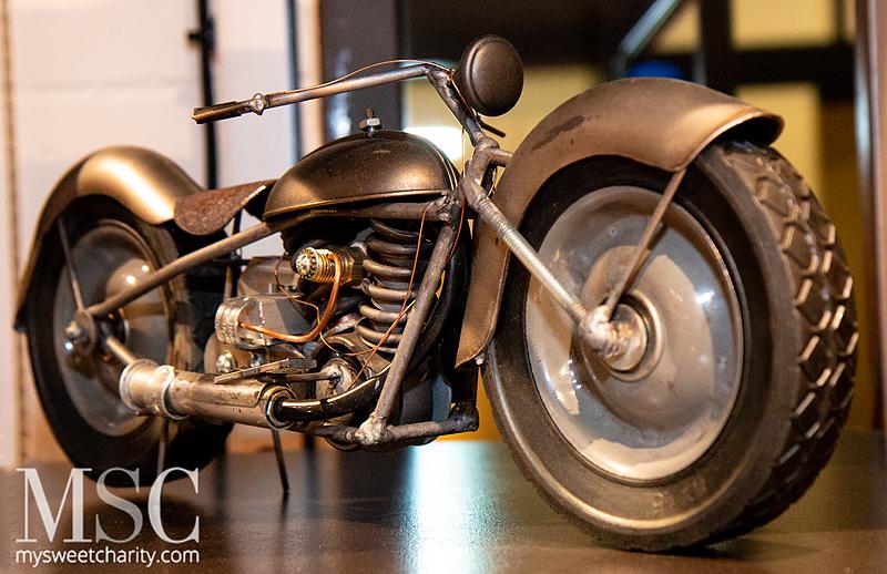 Mini-Moto Sculpture